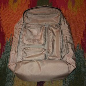 Adidas Originals Multi Pocket Backpack Grey Rare